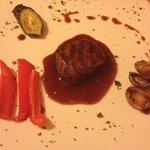 Rindfleisch mit Kirschesoße