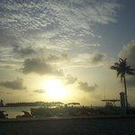 Sunset from the Tiki Bar