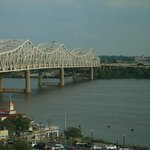 View from room of the Ohio river