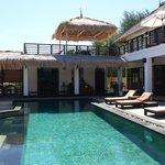 la piscine & villa