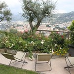 View from Villa Bianca private patio