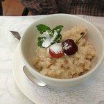 Delicious gluten free, dairy free porridge.