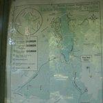 Map of Rock Creek Regional Park & Lake Needwood