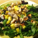 Fit for You Chicken Fiesta Salad (without dressing)