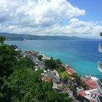 Looking Down On The Hip Strip In Montego Bay!