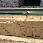 Ballgame player and 2 aluxes stucco