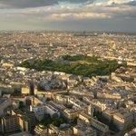 The gardens from Tour Montparnasse