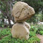Two huge boulders