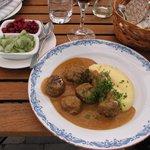 Yes - Swedish meatballs!