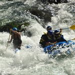 The Boca Run of the Truckee River in California with Tahoe Whitewater Tours