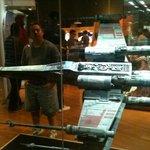 Star Wars exhibit.