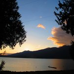 Lake Quinault from our deck