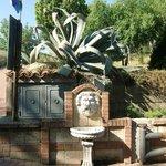 particolare della fontanella
