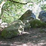 Barbizon - plaque commémorative Rousseau et Millet