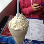 vanilla milkshake- thick and gorgeous