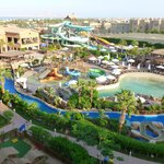 Waterpark, wave pool, lazy river