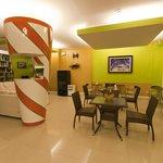 Coffee Shop Reception Floor