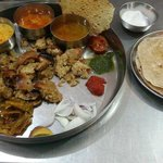 Rajasthani Thali  a must try for everyone