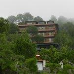 Pine Drive Resort from down below