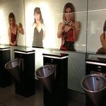 For the ladies who wonders what's taking the men so long in the toilet! camera shy perhaps?