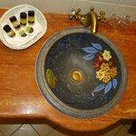 The hand-craft basin