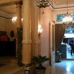 reception e sala breakfast