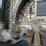 The tomb of Robert Dudley, Earl of Leicester, and his wife Lettice Knollys