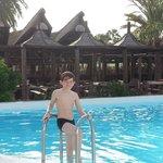 pool at Milfour Suites