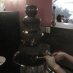 Fuente de Chocolate ummmm que ricooooo