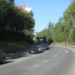 Rue Val de Marne vanaf Av Gallieni