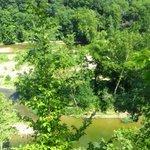 Lookout over Sugar Creek