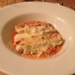Heavenly melt in your mouth ricotta and spinach cannelloni