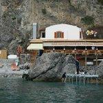 Lunch stop at Mama Terersa's Trattoria Amalfi Coast