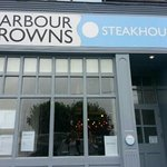 Harbour Browns Steakhouse.