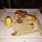 Filetto di rospo con salsa al tartufo