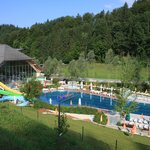 Great outdoor and indoor swimming