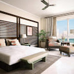 Master bedroom from Gulf front residence
