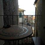 veduta dall'hotel sui tetti di Cortona