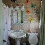 Butter Fly Bath Room