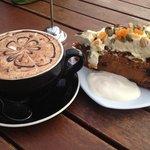 Mocha and Carrot Cake