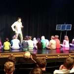 Children on stage
