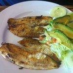 talapia fish dinner