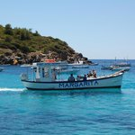 the ferry to Dragonera (12 euro pp round trip)