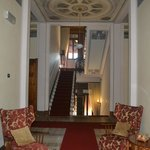 This is a shot of the interior of the hotel.