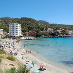 the beach in Sant Elm