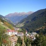 Landschaftsansicht Chalet Belvedere