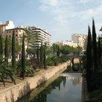Paseo Mallorca,la strada dell'hotel