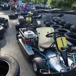 The go-kart track on the hotel grounds provides good entertainment value