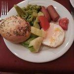 Breakfast, day one