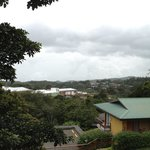 Our view from Hotel Ficus in Monteverde